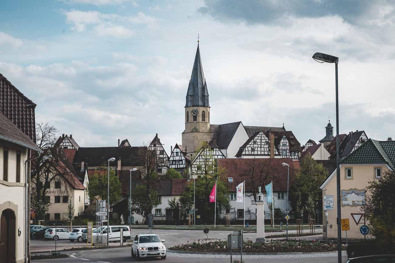 hochzeitsfotograf eppingen fotograf pfarrkirche unsere liebe frau altstadt - Hochzeitsfotograf Eppingen